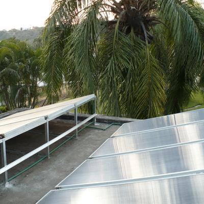 Calefacion Solar Alberca Tequesquitengo