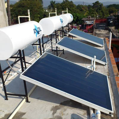 Calentador solar domestico
