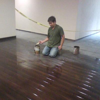 Piso de madera. CArpintería Aguilar