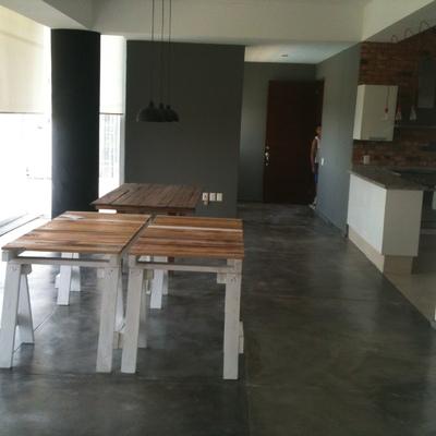Cambio de piso a concreto pulido