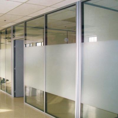 Canceleria aluminio y vidrio