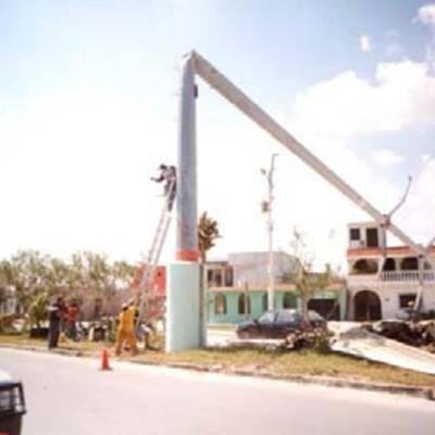 Reconstrucción de Líneas en Cancún
