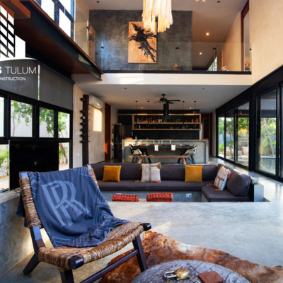 Caplan house project in Tulum