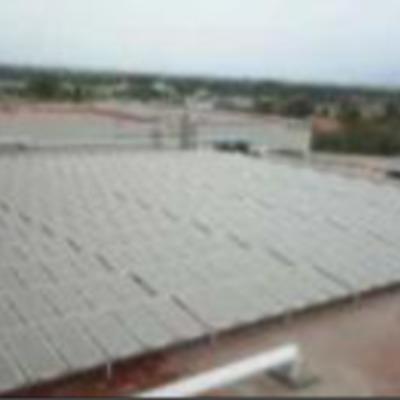 Calentador Solar para Industria de Alimentos.