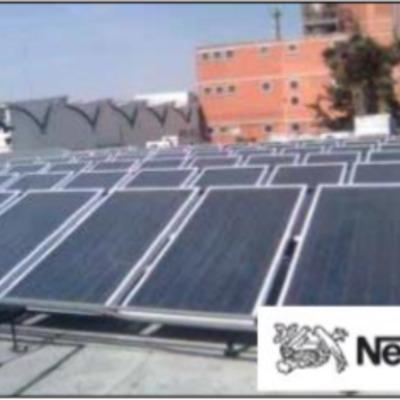 Calentador Solar paraProcesos Industriales.