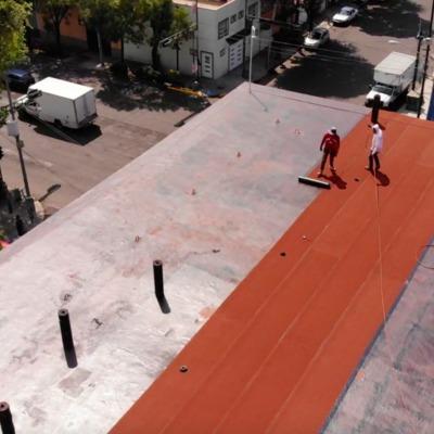 Impermeabilizante prefabricado rojo terracota (rollo 4.0 mm)