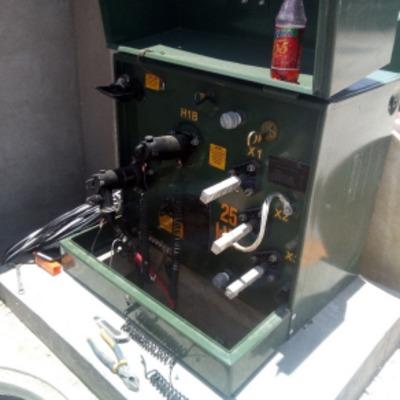 Instalación y conexión de transformadores en media tensión 13,200 v