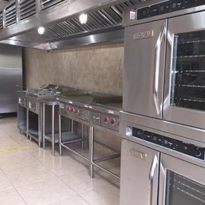 suministro e instalación de cocinas industriales