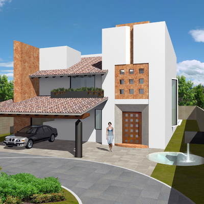 Casa en Fracc Puerta del Carmen Edo. de Mexico