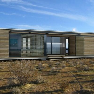 Renders  - casa prefabricada