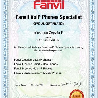 Certificación de la marca FANVI