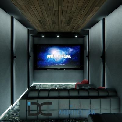Diseño de cine en casa