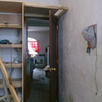 closet de madera de cedro