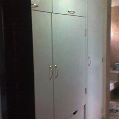 closet vestidor blanco