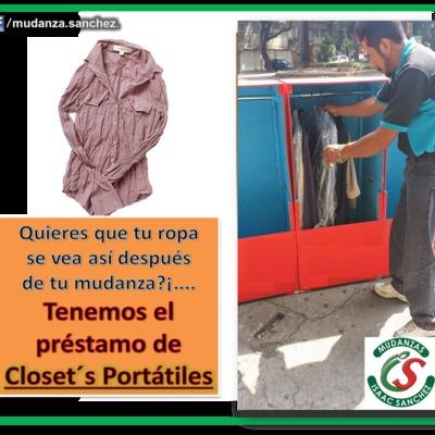 Closets Portatiles para su ropa