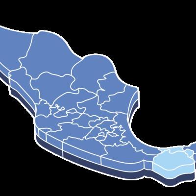 Cobertura en 3 Estados de la república