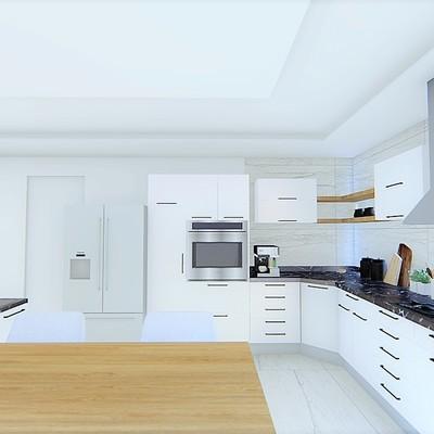 Diseño de Cocina moderna casa Tancitaro  2