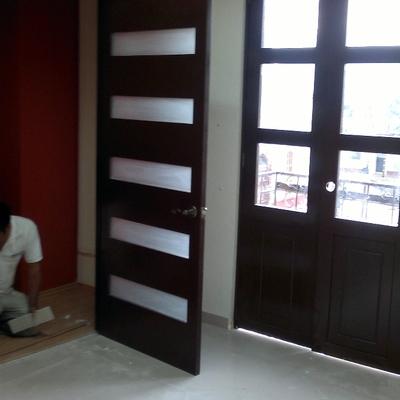 Cotizaci n puertas madera economicas online habitissimo for Puerta corrediza de madera
