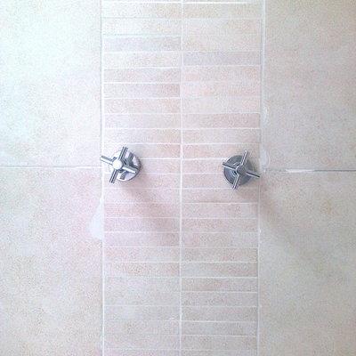 colocación en baño