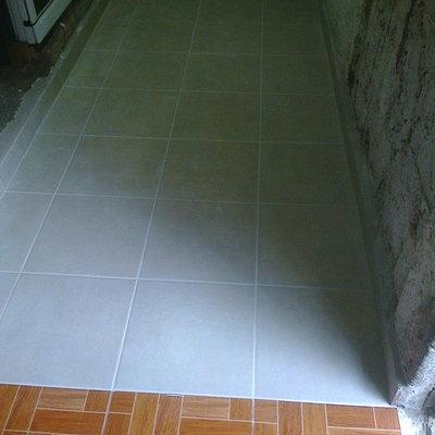 colocación en piso de cocina