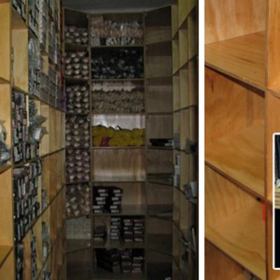 Compartimentos para almacenaje