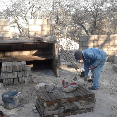 Construccion de casa habitación en terreno irregular