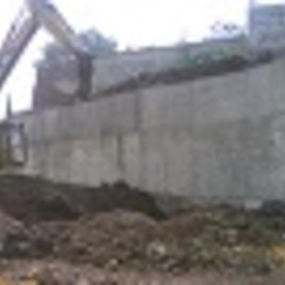CONSTRUCCION DE MURO DE CONSTRUCCION PARA ZONAS DE ALTO RIESGO