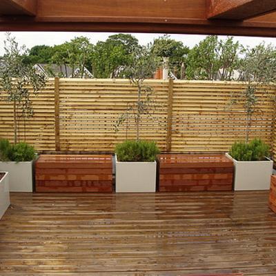 Construccion terraza