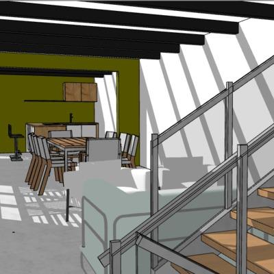 Diseño de casa habitación CDMX