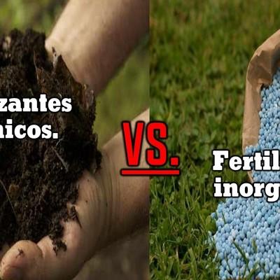 Fertilizantes orgánicos e inorgánicos