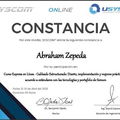 """Certificación """"Cableado Estructurado"""""""