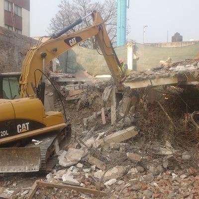 Demoler estructura de concreto (Demolicion)
