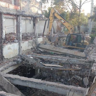Desligar elementos estructurales (Demolicion)