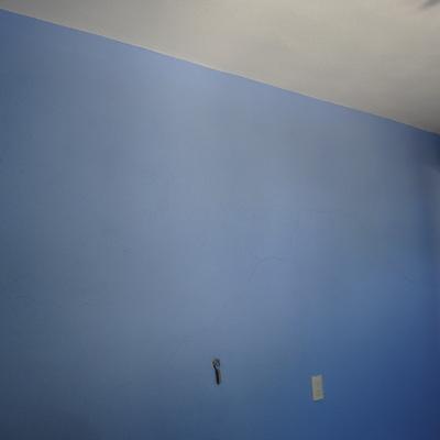 Delineado en techo y pared.