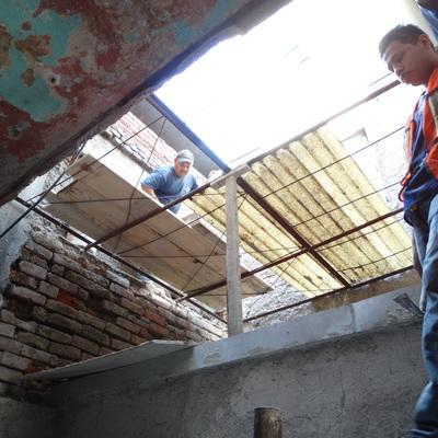 Rehabilitación de deptos ruinosos en la colonia Guerrero, CDMX