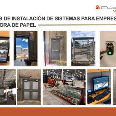 Nave industrial para empresa productora de papel