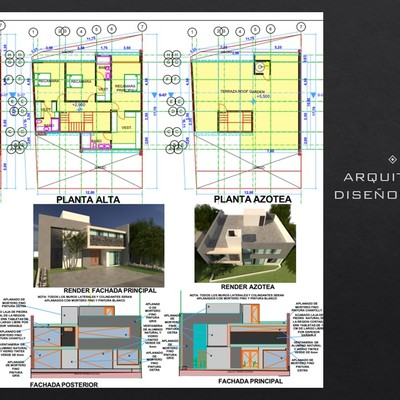 Planos-Proyecto arquitectonico