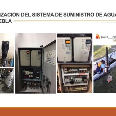 Mantenimiento y automatizaciones en ITEMS Puebla