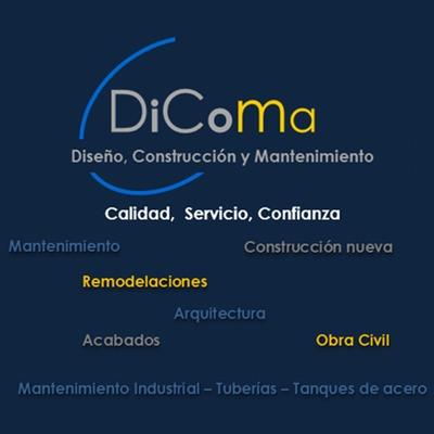 DiComa , Diseño , Construcción y Mantenimiento.