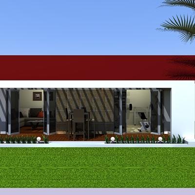 Diseño área descanso