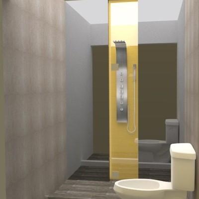 Diseño de Baño para departamento