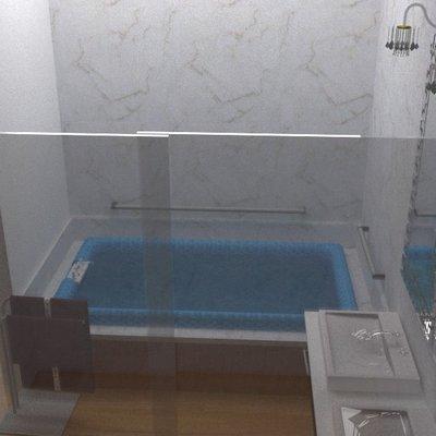 Diseño de baño vestidor