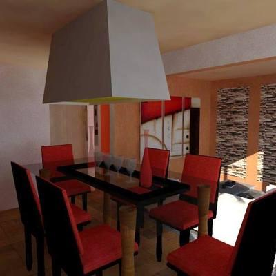 Diseño de interiores Casa tecamac