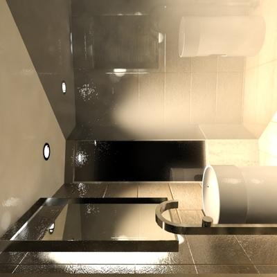 diseño de interiores en baño y construccion