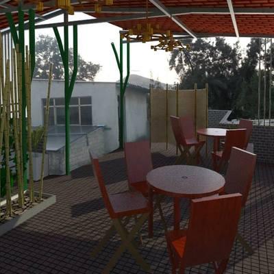 Diseño de terraza en Ecatepec
