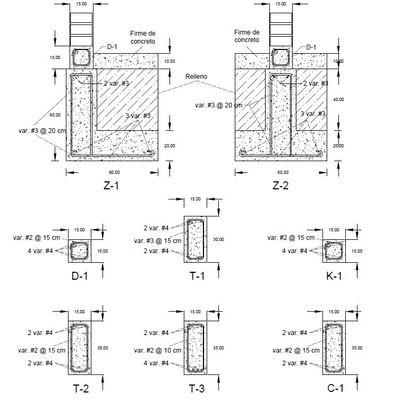 Diseño estructural de casa-habitación