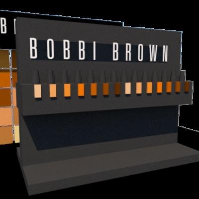 DISEÑO DE STAND PARA BOBBI BROWN