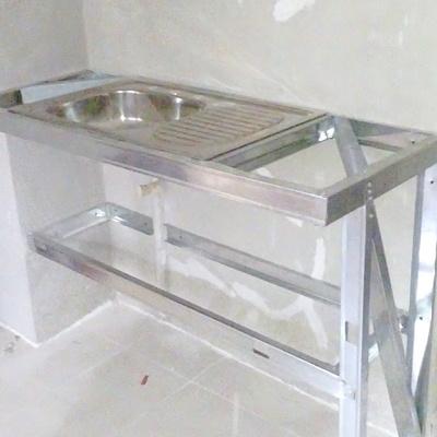 Fabricación de mueble de tarja