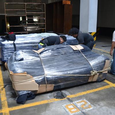 Preparacion de mueble para volado