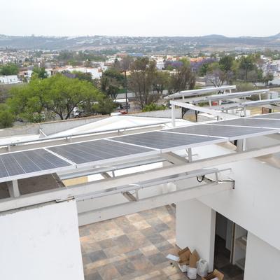 Sistema instalado en oficinas en Querétaro
